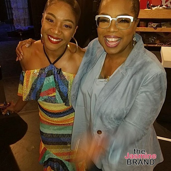Tiffany Haddish: I Cried When I Met Oprah & Asked Her To Be My Auntie