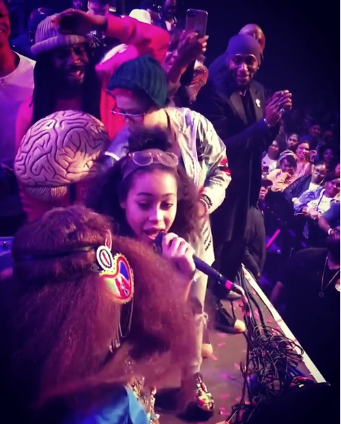 Can Erykah Badu's Daughter Sing? Watch Her Serenade Her Mother [VIDEO]