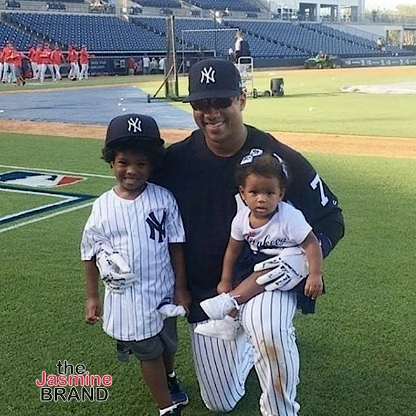 Russell Wilson Brings Baby Sienna & Future To Training Camp [Photos]