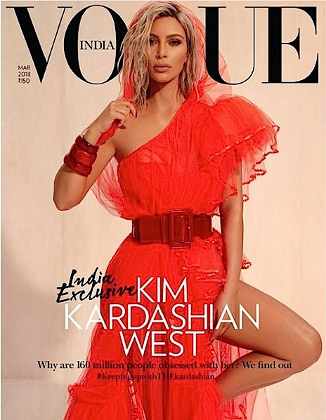 VOGUE India Slammed For Kim Kardashian Covers: Put Some Indians On Your Cover!