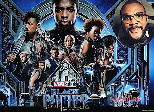 "Tyler Perry: ""Black Panther"" Was Shot At My Studio"
