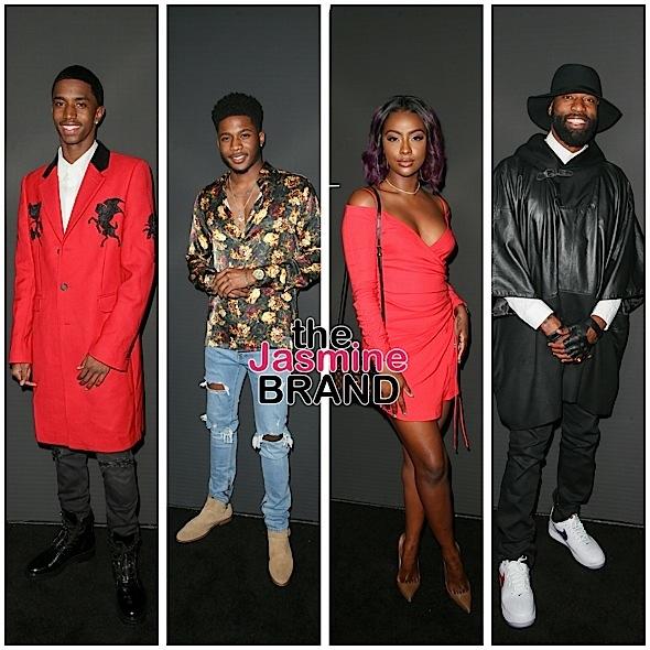 Andre Harrell, Normani Kordei, Metro Boomin, Skylar Diggins, Christian Combs, Justine Skye Spotted In LA [Celebrity Stalking]