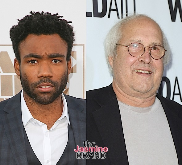 Donald Glover – Chevy Chase Made Racist Jokes To Me While Filming 'Community'