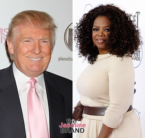 Trump Lashes Out At Oprah: You're Insecure!