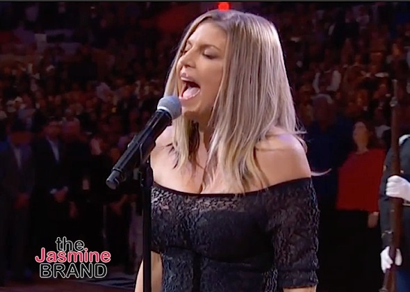 Fergie Trashed Over National Anthem Performance