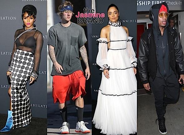 Bella Hadid, J. Alexander, Janelle Monae, Justin Bieber, Tessa Thompson, Nick Cannon [Celebrity Stalking]