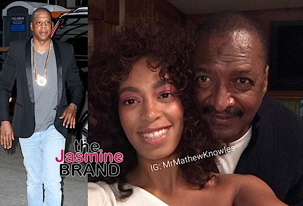 Mathew Knowles Discusses Solange & Jay-Z's Elevator Fight