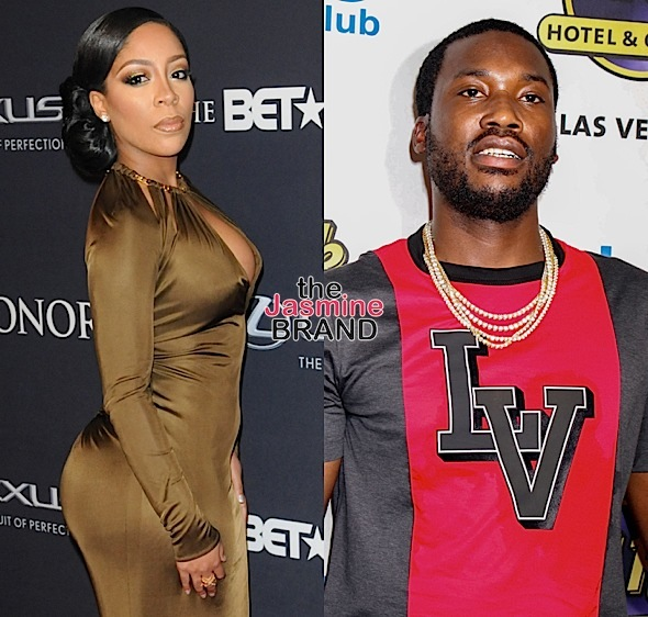 K.Michelle Ends Non-Beef w/ Meek Mill: I'm Putting Money On His Books!