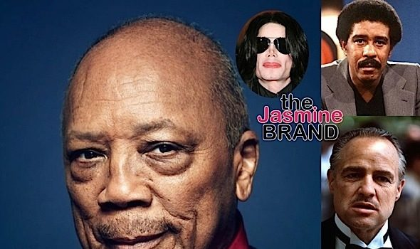 Richard Pryor & Marvin Gaye Had Sex w/ Marlon Brando, According Quincy Jones + Mogul Claims Michael Jackson Stole Other People's Songs