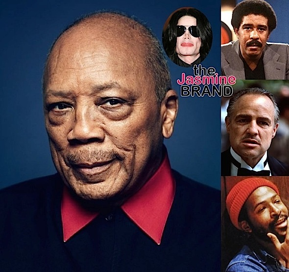 Richard Pryor & Marvin Gaye Had Sex w/ Marlon Brando, According Quincy Jones + Mogul Claims Michael Jackson Stole Other People's Songs