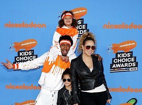 Kids Choice Awards: Mike Tyson, Mel B & Mariah Carey & Nick Cannon Bring Their Kids + Odell Beckham Jr, Lamar Odom, Kat Graham, Yara Shahidi, Storm Reid [Photos]