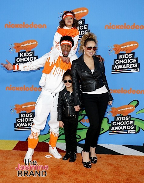 Kids Choice Awards: Mike Tyson, Mel B & Mariah Carey & Nick Cannon Bring Their Kids + Odell Beckham Jr, Lamar Odom, Kat Graham, Yara Shahidi, Storm Reid [Photos]
