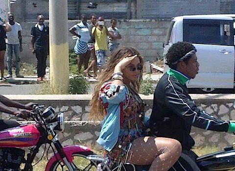 Beyonce & JAY-Z Film Video In Jamaica [Celebrity Stalking]