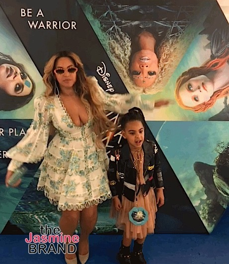 Beyonce, Jay-Z & Blue Ivy Attend 'A Wrinkle In Time' Premiere