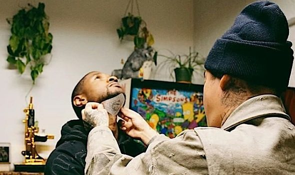 Usher – See My New Neck Tattoo!