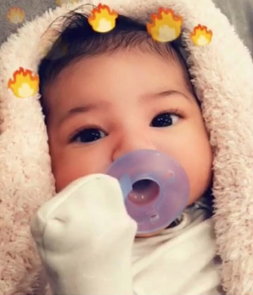 Travis Scott Shares Photo of Baby Stormi + Alexis Skyy Celebrates Preemie Daughter Smiling