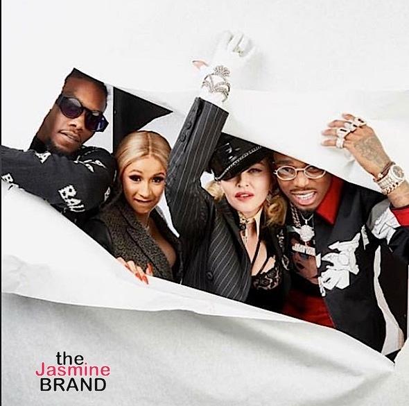 Cardi B: I Met My Idol Madonna & She's A Kick Ass Feminist B*tch!
