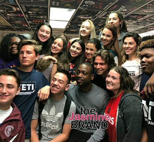 Dwyane Wade Makes Surprise Visit To School Shooting Victims [VIDEO]