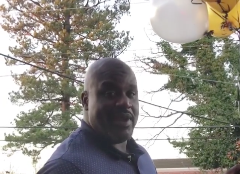 Shaq Gives Away Money On His Birthday [VIDEO]