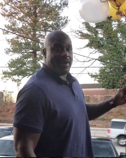 Shaq Gives Away Money On His Birthday