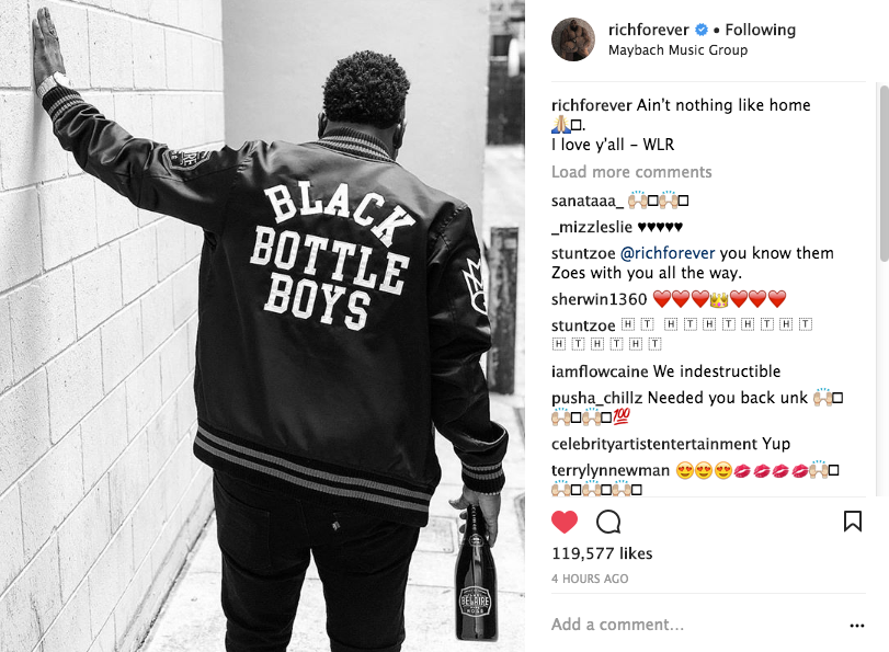 Rick Ross Releases 1st Statement Since Hospitalization