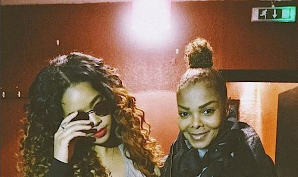 Janet Jackson & H.E.R. Spotted in London [Spotted. Stalked. Scene.]
