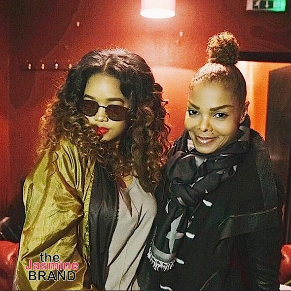 Janet Jackson & H.E.R. Spotted in London