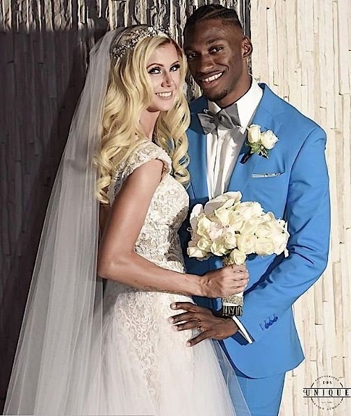 Robert Griffin III Marries Grete Sadeiko