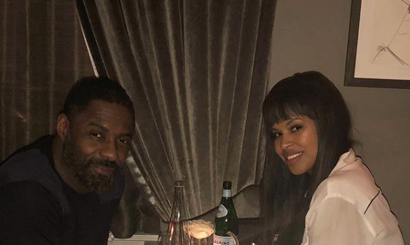 Idris Elba's Fiancee Sabrina Dhowre: It's jarring being thrust into the spotlight.