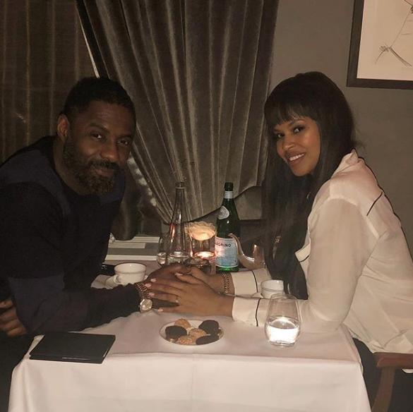 Idris Elba's Fiancee Sabrina Dhowre: It's jarring being thrust into the spotlight.