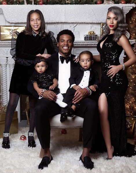 NFL'er Cam Newton & Baby Mama Expecting 3rd Child Together! [Photos]