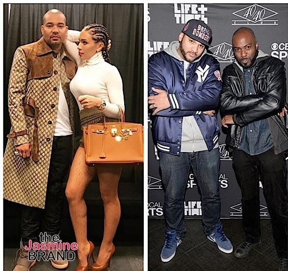 DJ Envy Walks Off 'The Breakfast Club': Don't EVER Disrespect My Wife!