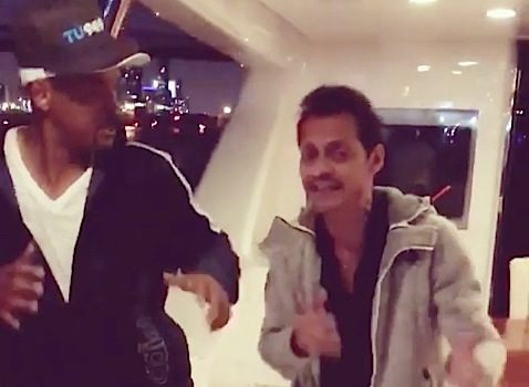 Will Smith Gets Salsa Lessons From Marc Anthony [VIDEO]