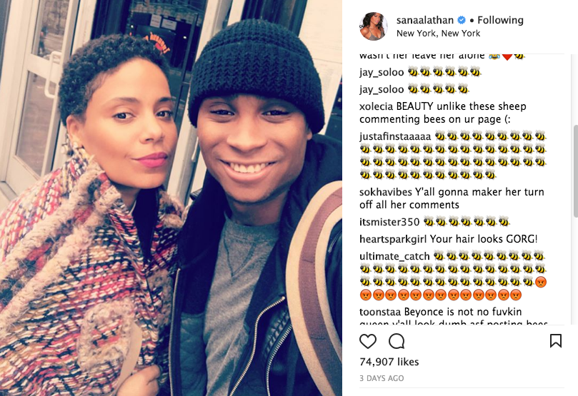 Sanaa Lathan: I Did NOT Bite Beyonce!