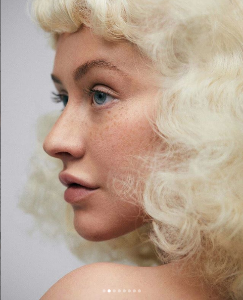 Christina Aguilera Almost Unrecognizable In New Shoot!