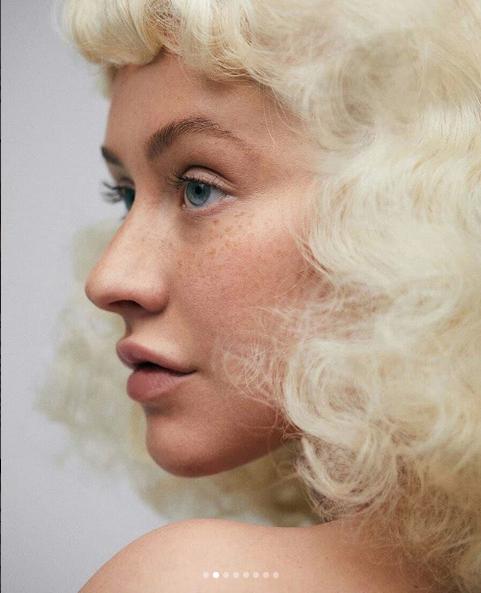 Christina Aguilera Almost Unrecognizable In New Shoot!