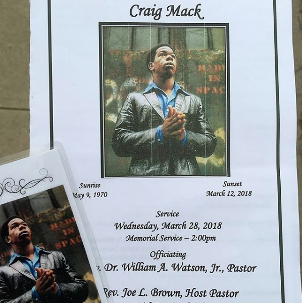 Craig Mack – Only 1 Celebrity Showed Up For Rapper's Funeral
