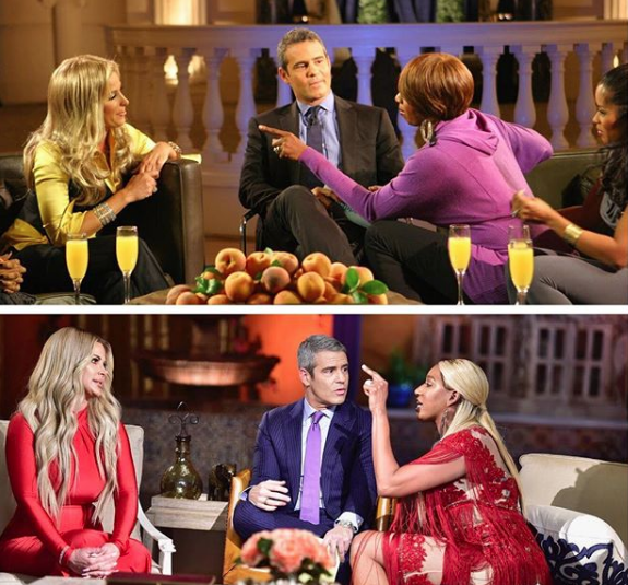 Marlo Hampton Tried To Blackmail RHOA Star, NeNe Leakes Stalked Sheree Whitfield's Jailed Boyfriend + Kim Zolciak Walks Off During Reunion [Teaser]