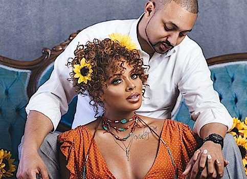 Eva Marcille Poses w/ Fiance In New Maternity Shoot
