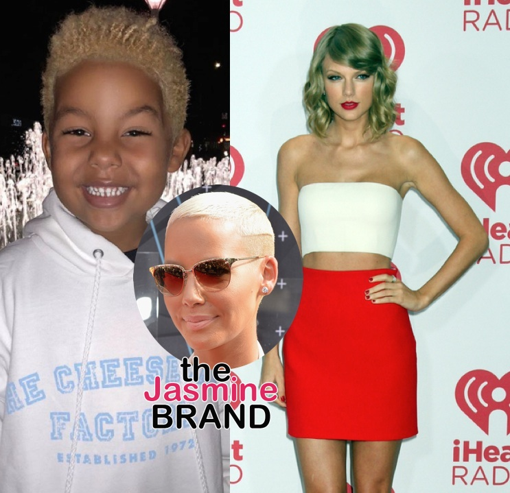 Amber Rose - My Son Isn't Gay Because He Likes Taylor Swift!