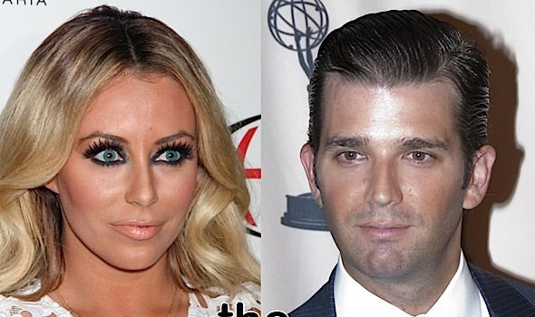 Aubrey O'Day On Donald Trump, Jr. 'We Both Thought We Were Each Other's Soulmates'