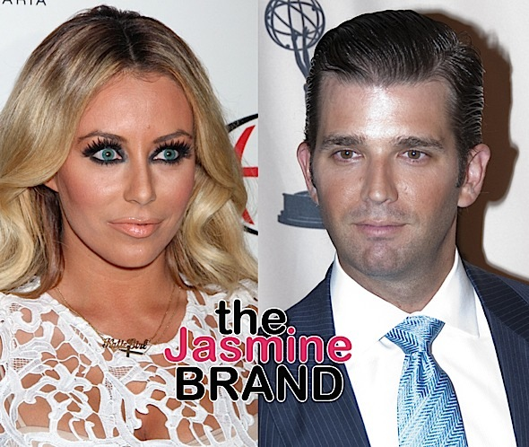 Aubrey O'Day Upset She's Being Labeled 'Homewrecker' Over Donald Trump Jr Fling