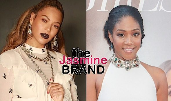 "Tiffany Haddish Says Everything ""Is Cool"" Between Her & Beyonce"