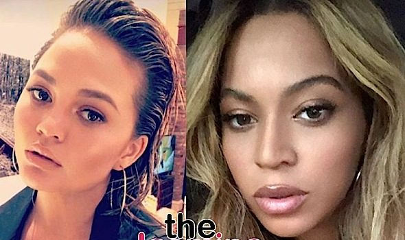 Chrissy Teigen Almost Finds Out Who Bit Beyonce
