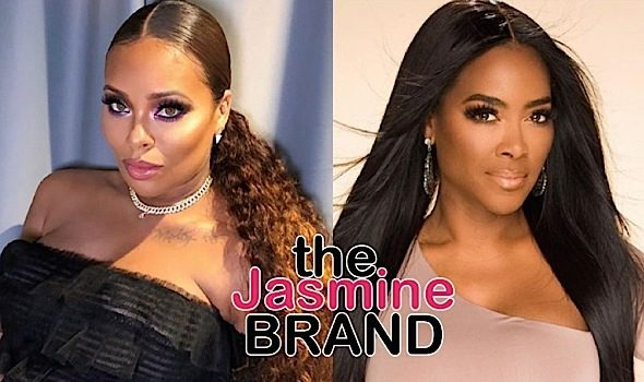 Eva Marcille On Kenya Moore : I Thought Mean Girls Died In High School, I Didn't Realize They Were Knocking On 50!