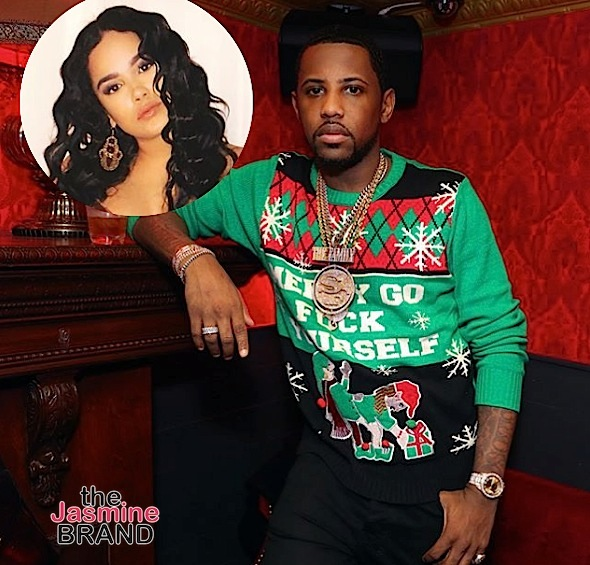 Fabolous Lunges At Emily B, Threatens To Shoot Father In Leaked Video