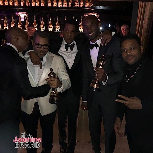 Jay-Z & Beyonce Host Oscars Bash: DJ Khaled, Lisa Bonet, Shonda Rhimes, Angela Bassett, Dave Chappelle Attend