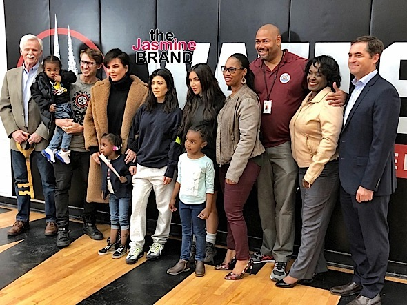 Kardashian's Donate $100k To Keep Watts Recreational Center Open