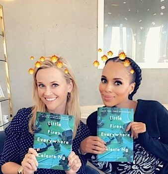 Kerry Washington To Produce & Star In 'Little Fires Everywhere' w/ Reese Witherspoon