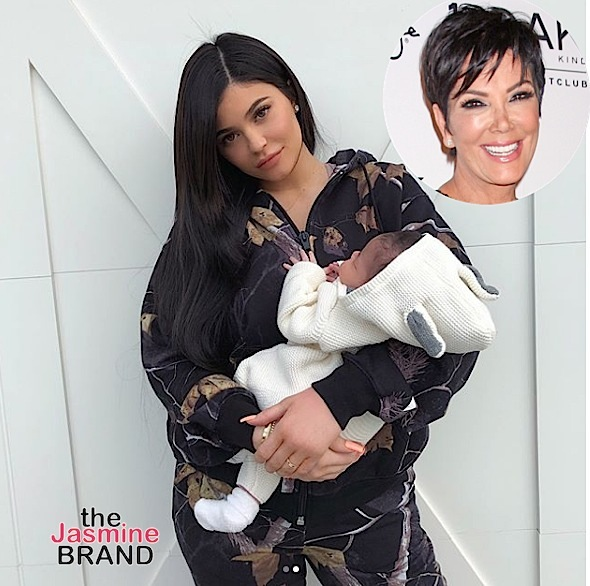 Kris Jenner Approved Of Kylie Jenner Having Kids At A Young Age
